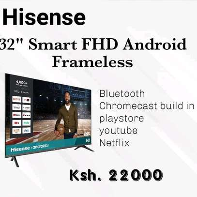 32 Inch Hisense Android Frameless - 2 months warranty image 1