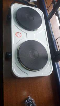 Electric double hotplate image 1