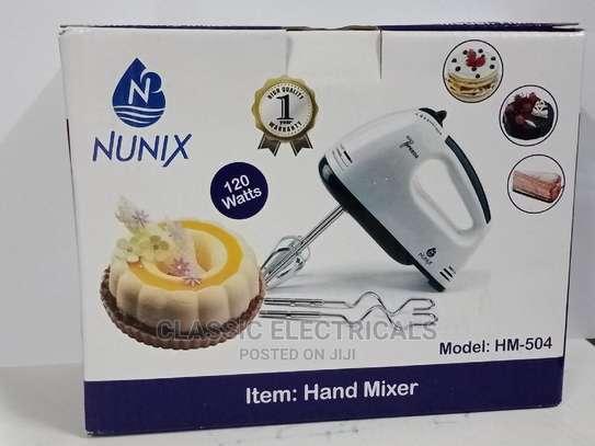 Nunix 7speeds Hand Mixer Available image 1