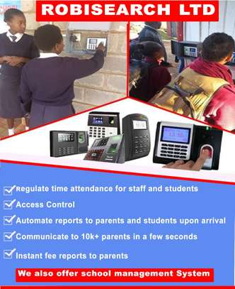 Biometrics Time Attendance System With SMS IN kENYA image 1