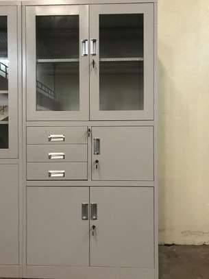 Steel and Glass Cabinet