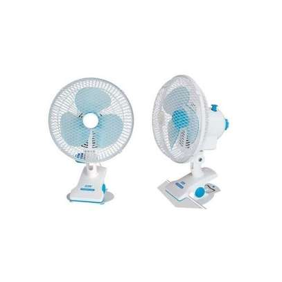 Generic Table Clip Powerful cooler Fan - White image 1