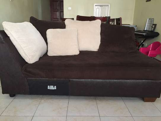 Used L-shaped Couch image 1