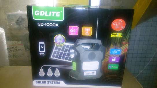 GD 1000A solar lighting system image 1