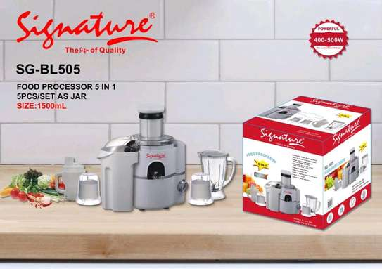 5 in 1 signature food processor/5 in 1 blender image 1