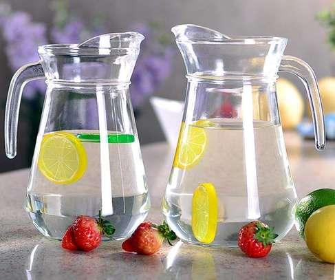 GLASS WATER/JUICE JUG