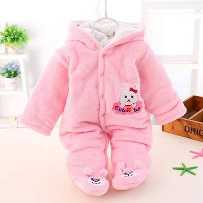 Warm Fleece Romper