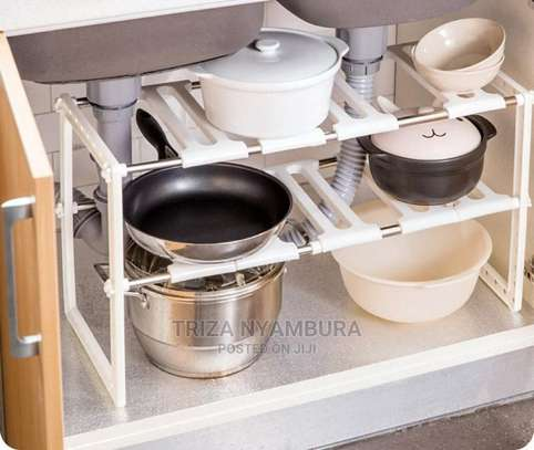 Expandable Under the Sink Organiser image 1