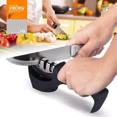 3 Stage Manual Knife Sharpener image 1