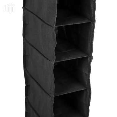 Wardrobe Storage Organiser 10 Pockets image 2