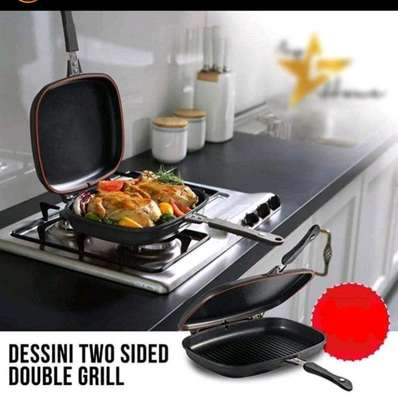 Double grill pan image 1