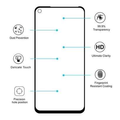 Full Coverage Film for Huawei Nova 5i Pro / Mate 30 Lite Full Glue 0.26mm 9H 2.5D Tempered Glass image 5