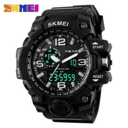 SKMEI Sports Watch Large Display Dual Face 1155 image 1