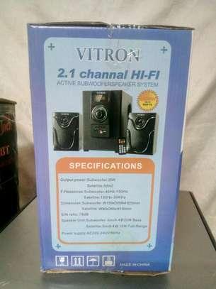 Vitron 2.1 Channel Hi-fi subwoofer speaker system image 3