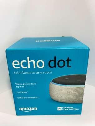 Amazon Alexa Echo Dot Smart Speaker (Heather Grey)3rd Gen image 2