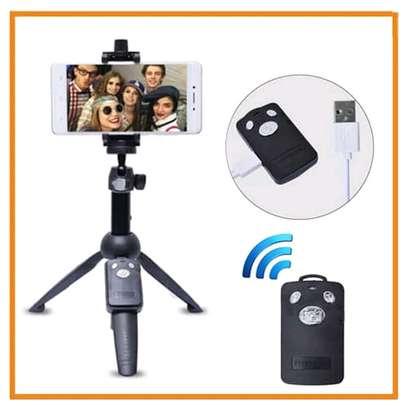 Yunteng YT-9928 Handheld Tripod Monopod Selfie Stick w/ Bluetooth Remote Shutter image 5