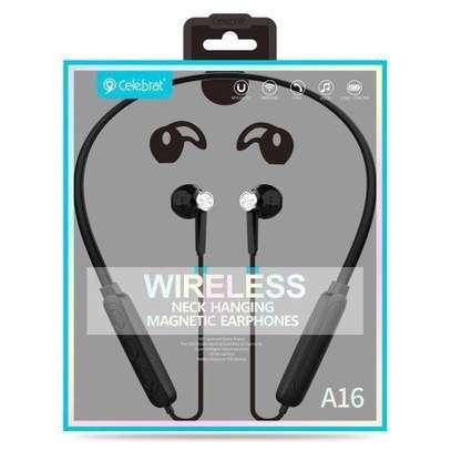 Celebrat 16 High Sound Quality Wireless Earphones image 2