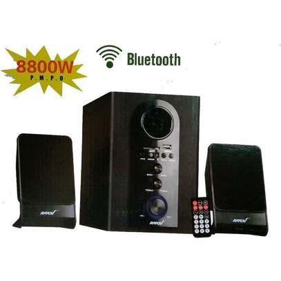 Ampex AX-002BT - 2.1 CH Multimedia Speaker System - 8800W P.M.P.O image 1