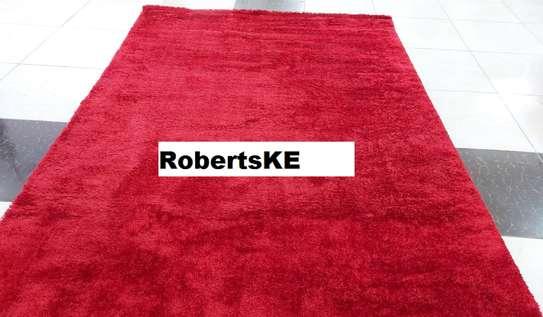 Turkish soft carpet red image 1