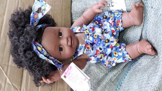 Africa kids doll/baby doll/baby/artificial baby image 4
