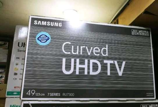 49 inch Samsung Curved UHD 4K Television image 1