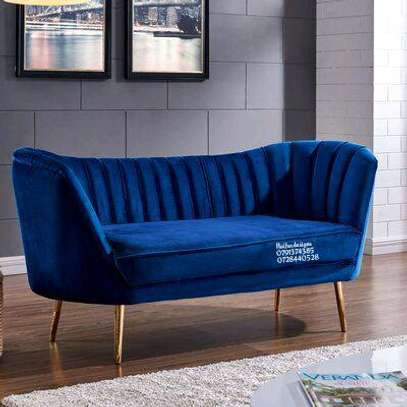 Blue three seater sofas for sale in Nairobi Kenya/chaise lounge sofas image 1