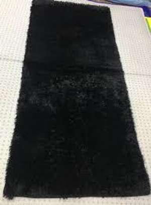 bed side mats black image 1