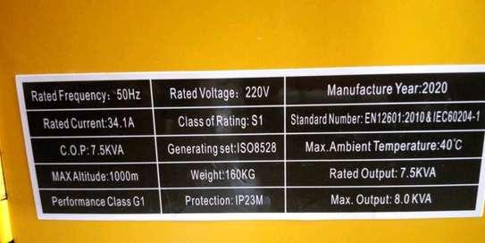 Power generator 7.5 kva image 2