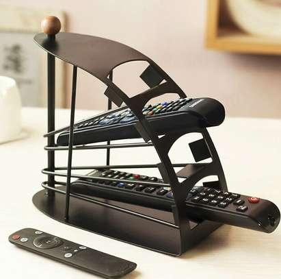 Universal TV Remote Control Organizer Holder Rack Stand image 1