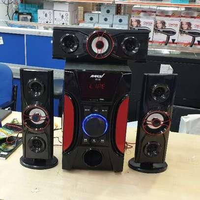 Ampex A18 3.1 Channel 12000 Watts Multimedia Speaker System-Black image 5