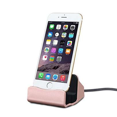 Desktop Charging Dock Charger Data Sync Station Cradle for iPhones image 4