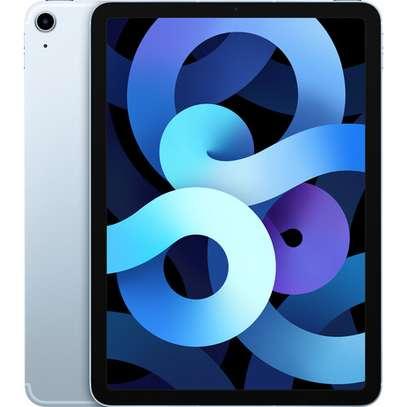 "Apple 10.9"" iPad Air (4th Gen, 256GB, Wi-Fi + 4G LTE, Sky Blue) image 1"