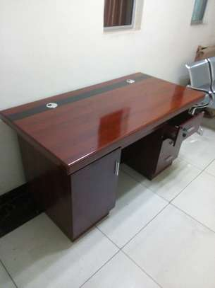 1.4m Executive office desks - for limited office space image 1