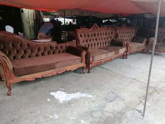 7 seater Antique Sofas image 4