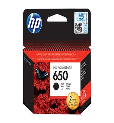 HP 650 Black Ink Cartridge image 1