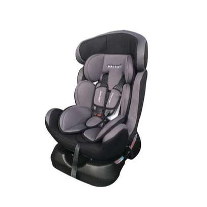 Superior Reclining Infant Car Seat & Booster with a Base-Grey & Black (0-7Yrs) image 1