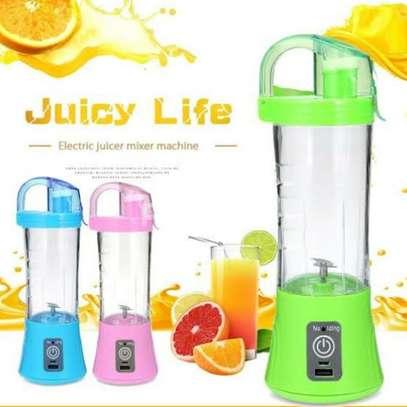 Portable rechargeable juice Blender image 1