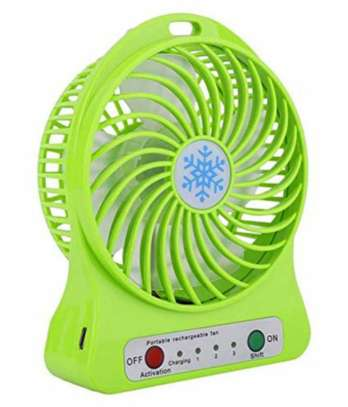 Portable USB Electric Cooling Fan image 1