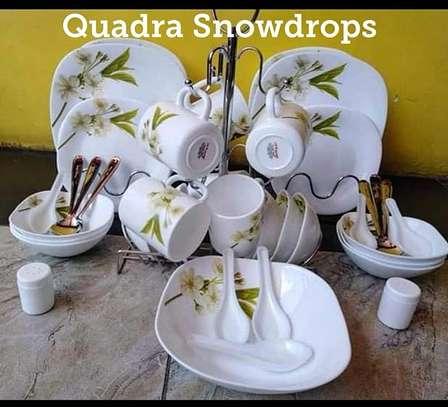 45pcs Classy Quadra Dinner Set image 1