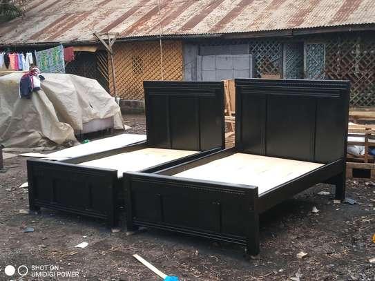 4by6 mahogany bed image 2