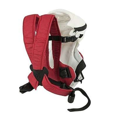 Chicco Red/White Chicco DESIGNER Baby Carrier (3.5 kg to 9 Kg) image 2