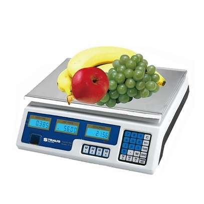 40kg commercial table top weighing scale. image 1