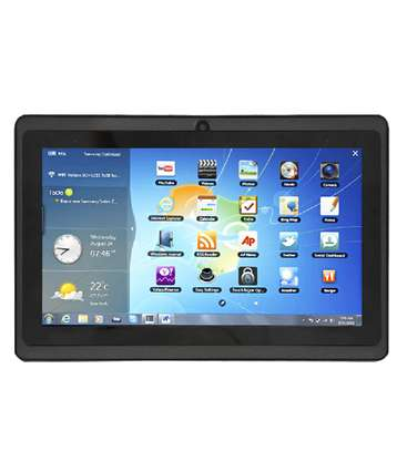 A touch kid's tablet