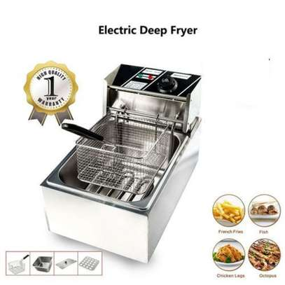 WNGREAT Stainless Steel Electric Chips Deep Fryer Machine image 1