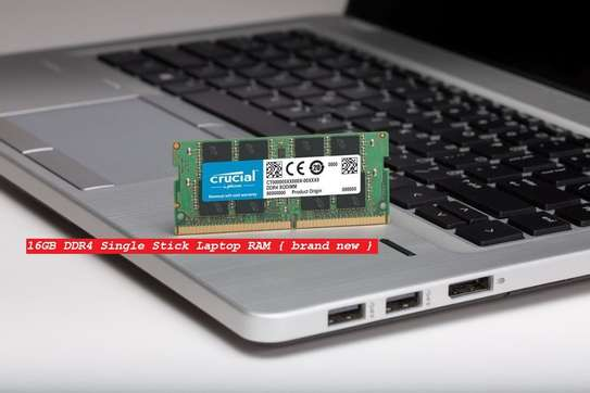 16GB DDR4 Single Stick Laptop RAM { brand new } image 1