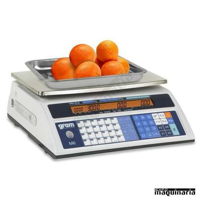 rechargeable   30kg electronic scale image 1