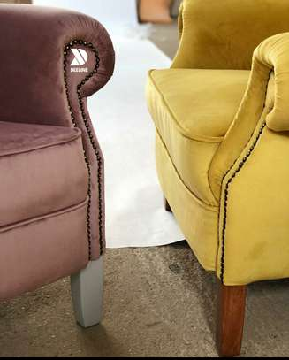 Wingback Accent Chairs. image 6