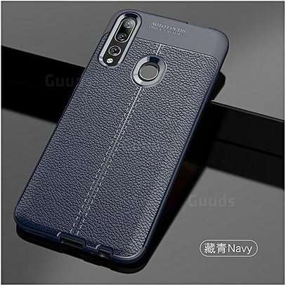 Auto Focus Leather Pattern Soft TPU Back Case Cover for Huawei Y9s/ Y9 2019/Y9 Prime 2019 image 1
