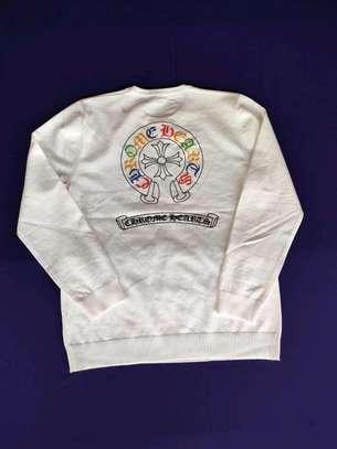 White designer quality  sweatshirts image 1