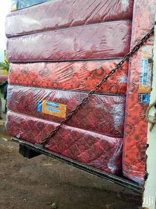 10 Inch thick  5x6 High Density Mattresses. Free Delivery!! Pay on delivery!! image 2